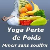 Yoga perte de poids couverture