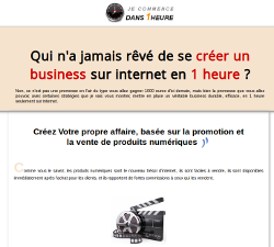 Je commence mon business dans une heure par Sylvain Milon