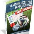 La méthode secrète pour gagner au loto foot par l'auteur pedro calvete