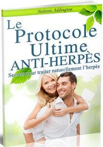 Couverture du livre le protocole ultime anti herpes comme traitement naturel