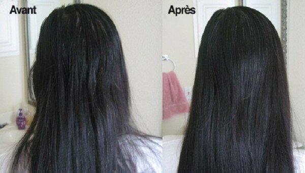 Augmenter la brillance de la chevelure et réparer les cheveux grâce aux bienfaits de l'huile de coco