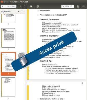 Aperçu du guide numérique contenant la méthode apm du site methodeapm.com