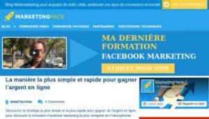 Avis et témoignage sur Ludovic Barthélémy de Marketinghack.fr