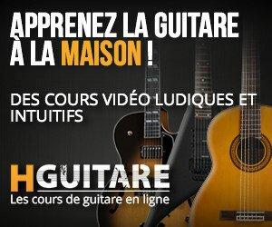 Hguitare : avis et témoinage pour apprendre la guitare en ligne sur hguitare.com