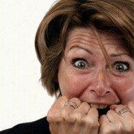 Personne malade qui souffre de candidose avant de découvrir le site stopcandidose.com