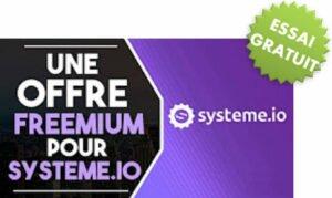 Systeme.io : offre d'essai pour tester gratuitement